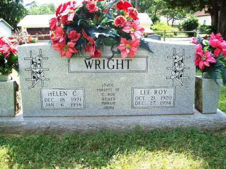 WRIGHT, LEE ROY - Benton County, Arkansas | LEE ROY WRIGHT - Arkansas Gravestone Photos