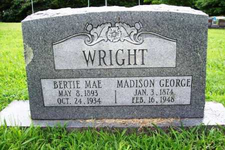WRIGHT, MADISON GEORGE - Benton County, Arkansas | MADISON GEORGE WRIGHT - Arkansas Gravestone Photos