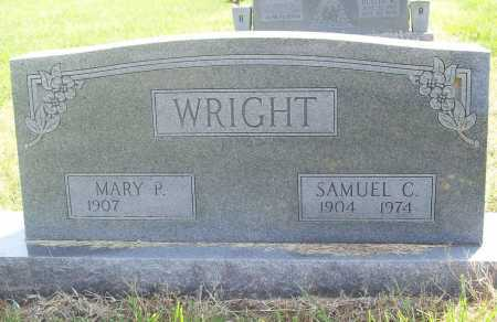WRIGHT, MARY P. - Benton County, Arkansas | MARY P. WRIGHT - Arkansas Gravestone Photos