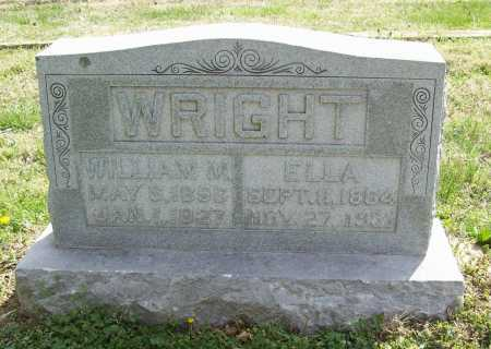 WRIGHT, ELLA - Benton County, Arkansas | ELLA WRIGHT - Arkansas Gravestone Photos