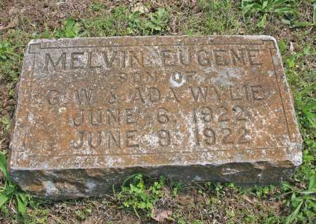WYLIE, MELVIN EUGENE - Benton County, Arkansas | MELVIN EUGENE WYLIE - Arkansas Gravestone Photos