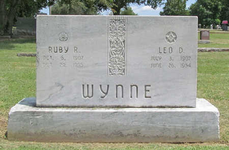 ROBERTSON WYNNE, RUBY - Benton County, Arkansas | RUBY ROBERTSON WYNNE - Arkansas Gravestone Photos