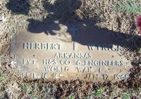WYRICK (VETERAN WWI), HERBERT F - Benton County, Arkansas | HERBERT F WYRICK (VETERAN WWI) - Arkansas Gravestone Photos