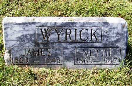 WYRICK, JAMES - Benton County, Arkansas | JAMES WYRICK - Arkansas Gravestone Photos