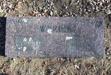 WYRICK, JOHN W. - Benton County, Arkansas | JOHN W. WYRICK - Arkansas Gravestone Photos