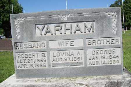 YARHAM, GEORGE - Benton County, Arkansas | GEORGE YARHAM - Arkansas Gravestone Photos