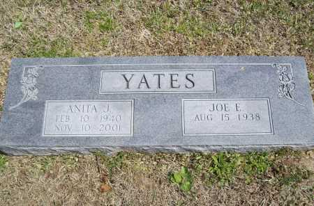 YATES, ANITA J. - Benton County, Arkansas | ANITA J. YATES - Arkansas Gravestone Photos