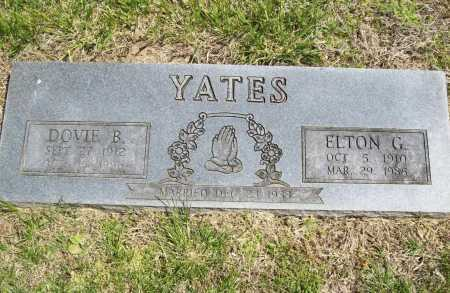 YATES, ELTON G. - Benton County, Arkansas | ELTON G. YATES - Arkansas Gravestone Photos