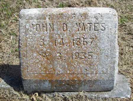 YATES, JOHN O. - Benton County, Arkansas | JOHN O. YATES - Arkansas Gravestone Photos