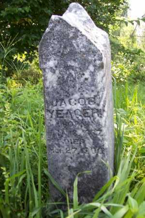 YEAGER, JACOB - Benton County, Arkansas | JACOB YEAGER - Arkansas Gravestone Photos