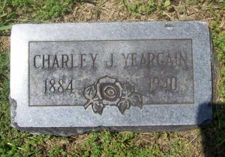 YEARGAIN, CHARLEY J. - Benton County, Arkansas | CHARLEY J. YEARGAIN - Arkansas Gravestone Photos