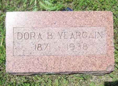 YEARGAIN, DORA B. - Benton County, Arkansas | DORA B. YEARGAIN - Arkansas Gravestone Photos