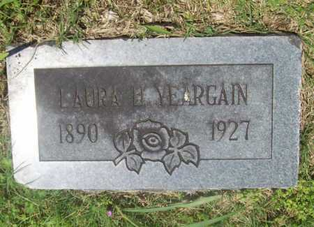 YEARGAIN, LAURA H. - Benton County, Arkansas | LAURA H. YEARGAIN - Arkansas Gravestone Photos