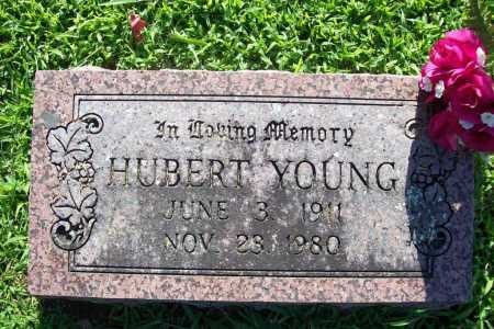 YOUNG, HUBERT - Benton County, Arkansas | HUBERT YOUNG - Arkansas Gravestone Photos