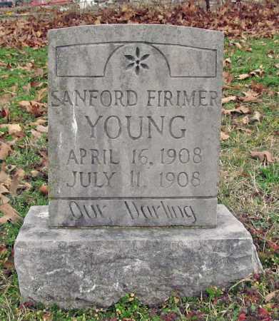 YOUNG, SANFORD FIRIMER - Benton County, Arkansas | SANFORD FIRIMER YOUNG - Arkansas Gravestone Photos