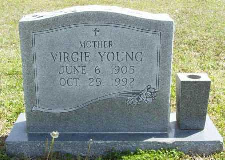YOUNG, VIRGIE - Benton County, Arkansas | VIRGIE YOUNG - Arkansas Gravestone Photos