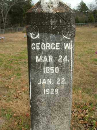 PARSLEY, GEORGE W. - Boone County, Arkansas | GEORGE W. PARSLEY - Arkansas Gravestone Photos