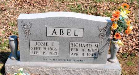 ABEL, RICHARD M. - Boone County, Arkansas | RICHARD M. ABEL - Arkansas Gravestone Photos