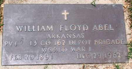 ABEL (VETERAN WWI), WILLIAM FLOYD - Boone County, Arkansas | WILLIAM FLOYD ABEL (VETERAN WWI) - Arkansas Gravestone Photos