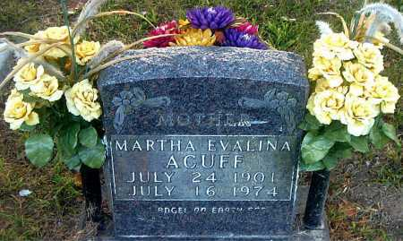 ACUFF, MARTHA EVALINA - Boone County, Arkansas | MARTHA EVALINA ACUFF - Arkansas Gravestone Photos