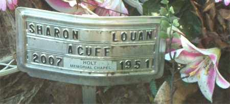 ACUFF, SHARON LOUAN - Boone County, Arkansas | SHARON LOUAN ACUFF - Arkansas Gravestone Photos