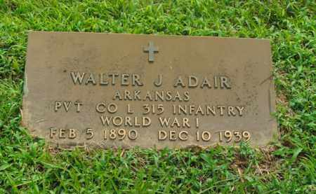 ADAIR  (VETERAN WWI), WALTER J. - Boone County, Arkansas | WALTER J. ADAIR  (VETERAN WWI) - Arkansas Gravestone Photos