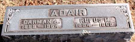 ADAIR, RUFUS M - Boone County, Arkansas | RUFUS M ADAIR - Arkansas Gravestone Photos