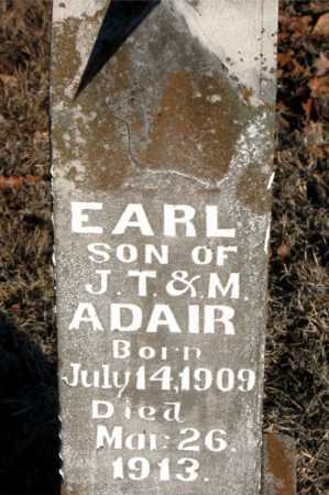 ADAIR, EARL - Boone County, Arkansas | EARL ADAIR - Arkansas Gravestone Photos
