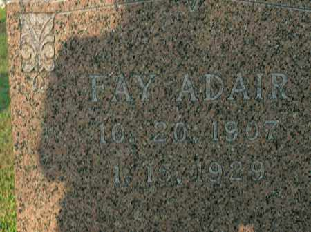 ADAIR, FAY - Boone County, Arkansas | FAY ADAIR - Arkansas Gravestone Photos