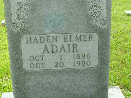 ADAIR  (VETERAN WWI), HADEN ELMER - Boone County, Arkansas | HADEN ELMER ADAIR  (VETERAN WWI) - Arkansas Gravestone Photos
