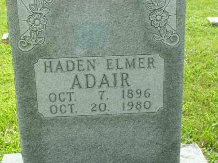 ADAIR  (VETERAN WWI), HADEN ELMER - Boone County, Arkansas | HADEN ELMER ADAIR  (VETERAN WWI) - Arkansas Gravestone Photos