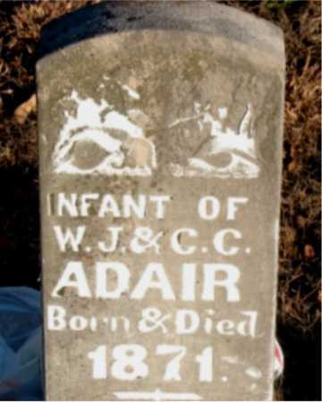 ADAIR, INFANT - Boone County, Arkansas | INFANT ADAIR - Arkansas Gravestone Photos