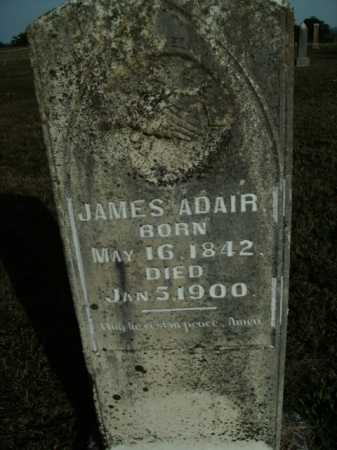 ADAIR, JAMES - Boone County, Arkansas | JAMES ADAIR - Arkansas Gravestone Photos