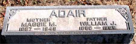 ADAIR, MAGGIE  M - Boone County, Arkansas | MAGGIE  M ADAIR - Arkansas Gravestone Photos
