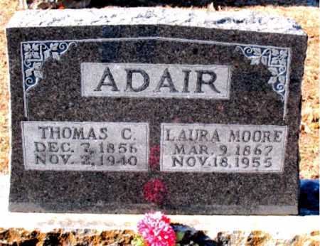 ADAIR, THOMAS C - Boone County, Arkansas | THOMAS C ADAIR - Arkansas Gravestone Photos