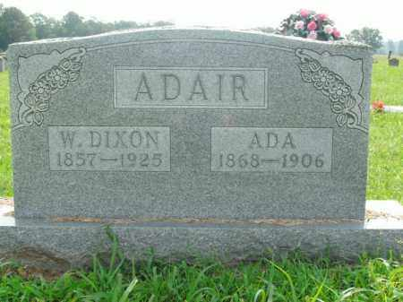 MARTIN ADAIR, ADA - Boone County, Arkansas | ADA MARTIN ADAIR - Arkansas Gravestone Photos