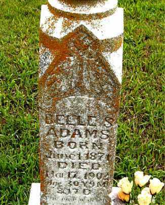 ADAMS, BELLE - Boone County, Arkansas | BELLE ADAMS - Arkansas Gravestone Photos