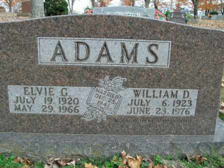ADAMS, ELVIE G. - Boone County, Arkansas | ELVIE G. ADAMS - Arkansas Gravestone Photos