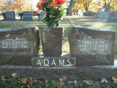 ADAMS, ODELL H. - Boone County, Arkansas | ODELL H. ADAMS - Arkansas Gravestone Photos