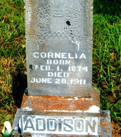 ADDISON, CORNELIA - Boone County, Arkansas | CORNELIA ADDISON - Arkansas Gravestone Photos