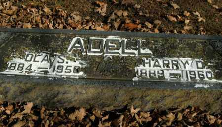 ADELL, OLA S. - Boone County, Arkansas | OLA S. ADELL - Arkansas Gravestone Photos