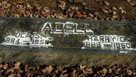 ADELL, HARRY D. - Boone County, Arkansas | HARRY D. ADELL - Arkansas Gravestone Photos