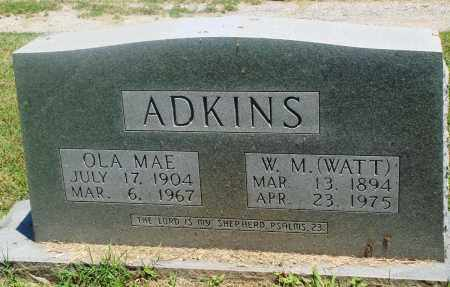 "ADKINS, WILLIAM  M ""WYATT"" - Boone County, Arkansas 