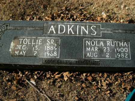 ADKINS, SR, TOLLIE - Boone County, Arkansas | TOLLIE ADKINS, SR - Arkansas Gravestone Photos