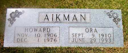 AIKMAN, HOWARD - Boone County, Arkansas | HOWARD AIKMAN - Arkansas Gravestone Photos