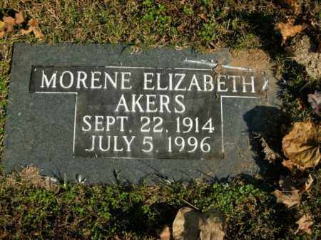 AKERS, MORENE ELIZABETH - Boone County, Arkansas | MORENE ELIZABETH AKERS - Arkansas Gravestone Photos