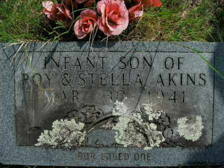 AKINS, INFANT SON - Boone County, Arkansas | INFANT SON AKINS - Arkansas Gravestone Photos