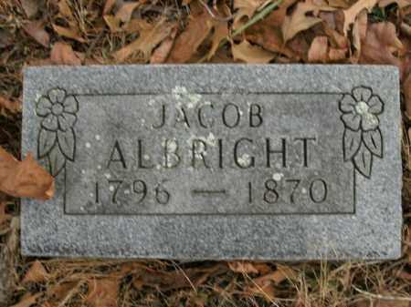 ALBRIGHT, JACOB - Boone County, Arkansas | JACOB ALBRIGHT - Arkansas Gravestone Photos