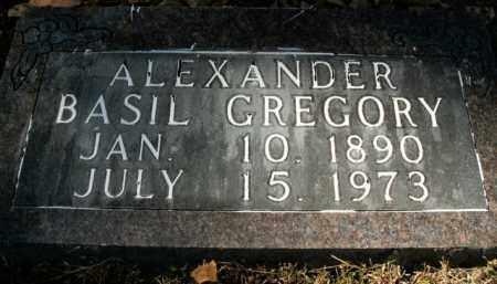 ALEXANDER, BASIL GREGORY - Boone County, Arkansas | BASIL GREGORY ALEXANDER - Arkansas Gravestone Photos