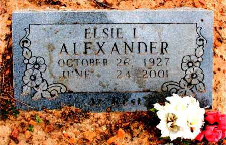 ALEXANDER, ELSIE  L. - Boone County, Arkansas | ELSIE  L. ALEXANDER - Arkansas Gravestone Photos